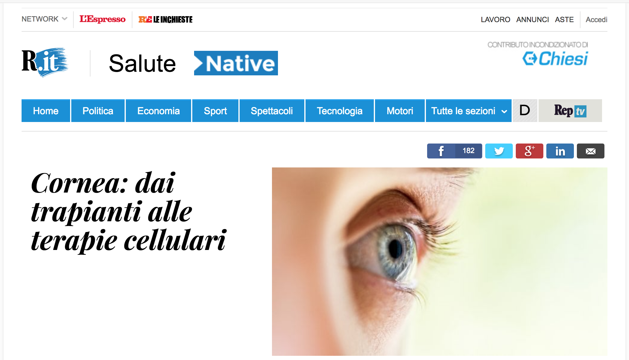 Repubblica.it Salute